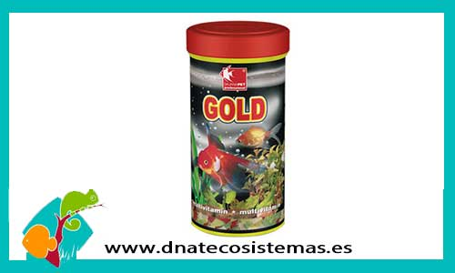 Alimento gold 250ml dajana for Peces pequenos para estanques de agua fria