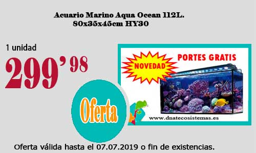 Resultado de imagen de Acuario Marino Aqua Ocean 112L.