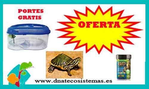 Resultado de imagen de oferta pack tortuga de agua dnatecosistemas
