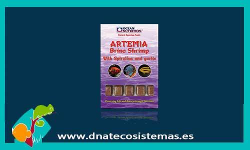 Artemia formual plus ocean nutrition ocean nutricion 100gr for Artemia para peces