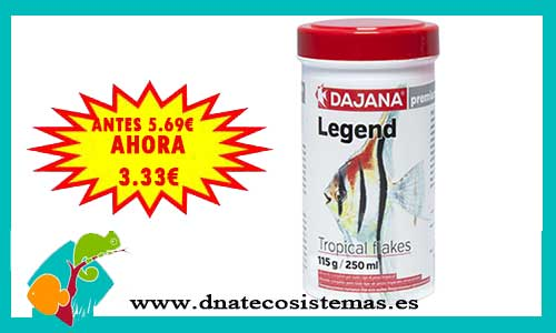 Alimento legend tropical escamas 100ml
