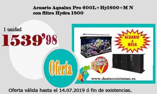 Resultado de imagen de Acuario Aqualux Pro 600L+Hy1800+M N.